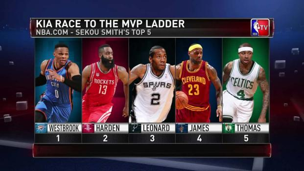 La lucha por el MVP de la NBA crece cada día mas