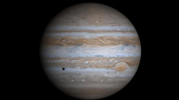 Vista del interior del planeta más grande del Sistema Solar