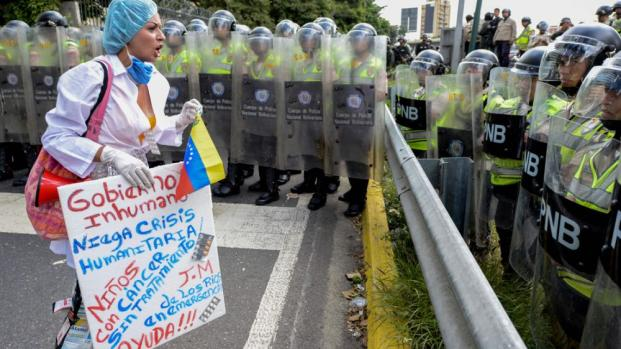 Venezuela: la capitale è devastata dalla crisi