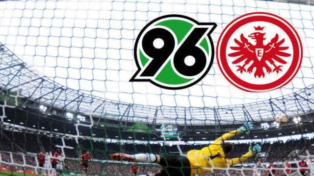 ¿Hay un favorito en la jornada 25 de la bundesliga? Frankfurt vs hannover 96