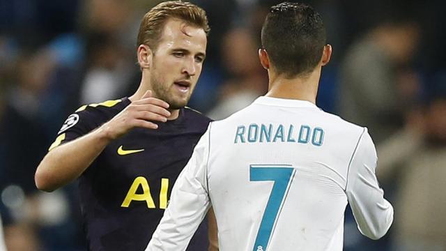 Kane esta a solo 5 goles de romper la marca de Ronaldo