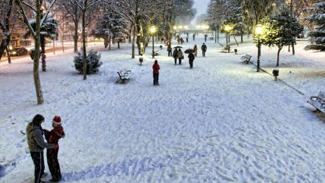 Nieve y escarcha: caos y malestar en la mitad de Italia