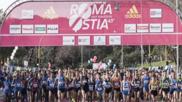 Mezza maratona Roma-Ostia: la competizione al via domenica 11 marzo