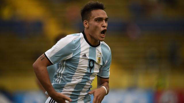 Lautaro Martínez el mejor jugador de Argentina