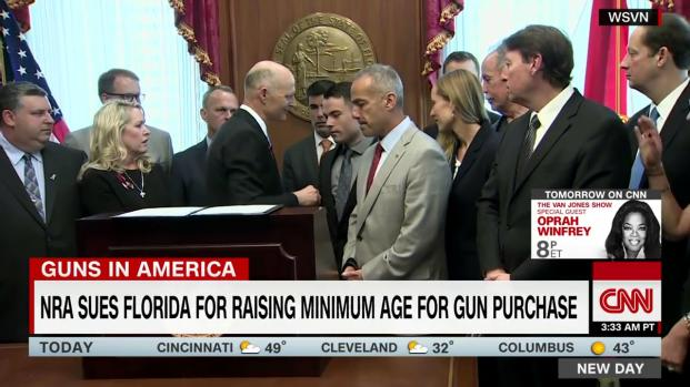 NRA sues Florida lawmakers for enacting new gun restrictions