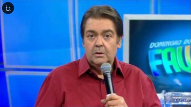 Faustão se revolta ao vivo com a Globo e xinga até marca do canal, veja
