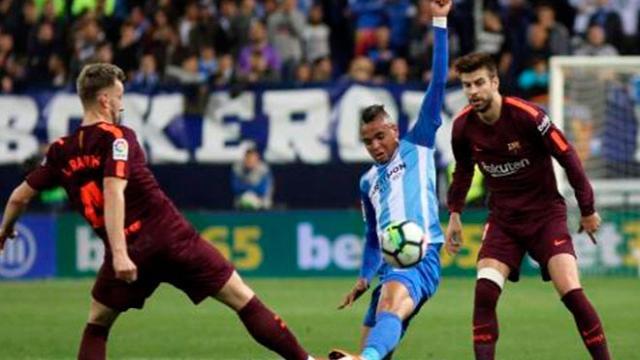 LaLiga: El Barcelona sin Messi logra una victoria 0-2 ante el Málaga
