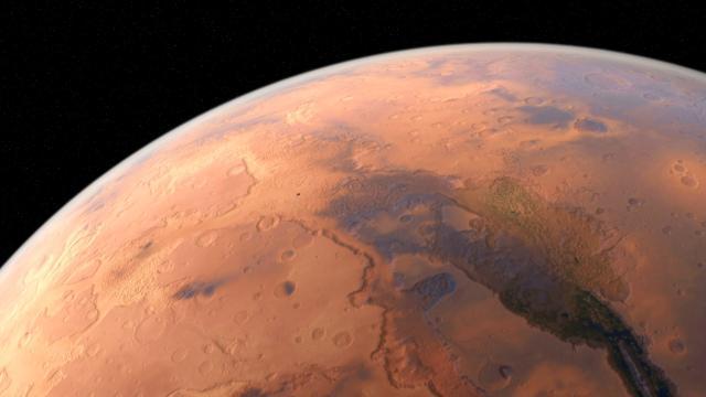 Marte tiene una magnetocola invisible única en todo el sistema solar