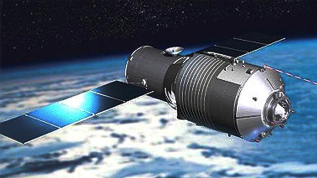 La estación espacial china se precipita hacia la Tierra