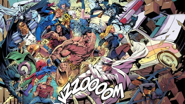 Nuevo avance de revisión : Doom Patrol Justice League of America Especial n.º 1