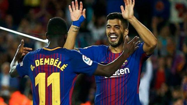 Ernesto Valverde elogia a Dembélé y a Paulinho en victoria del Barcelona