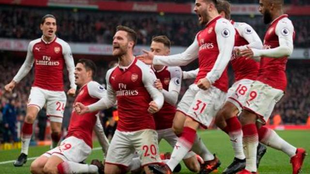 El Arsenal golea pero sigue lejos de los puestos de vanguardia