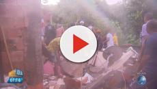 Criança morre em desabamento na Bahia