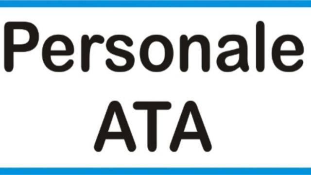 Personale ATA: al via il 14 marzo la compilazione online