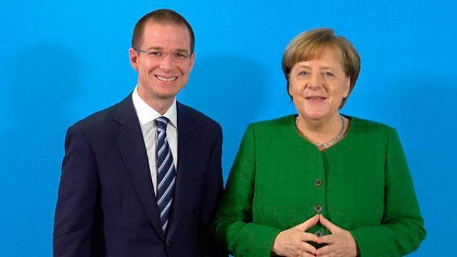 Se reúne Ricardo Anaya con Angela Merkel