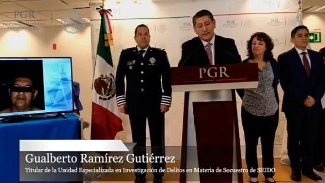 Detienen a presunto implicado en caso Ayotzinapa