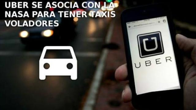 Uber tiene planes para prototipos de taxis voladores en Dallas y Dubai para 2020