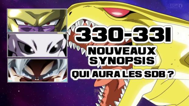 'Dragon Ball Super 330 - 331' : Deux nouveaux spoilers ! Plus que 30 secondes !