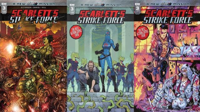 Avances: Scarlett's Strike Force # 2