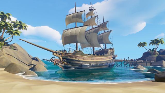 'Mar de ladrones' explora su creador de personajes que respeta el tiempo