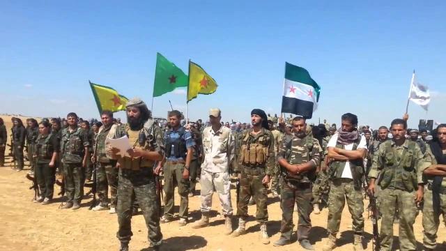 Las fuerzas turcas han rodeado la ciudad kurda del norte de Siria