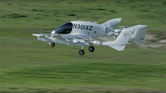 Kitty Hawk de Larry Page presenta taxis autónomos voladores