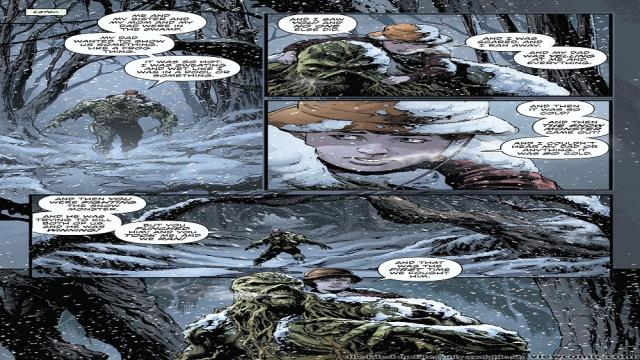 Avances : Swamp Thing Winter Special # 1