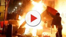 Madrid en llamas: graves incidentes en Lavapiés tras la muerte de un mantero