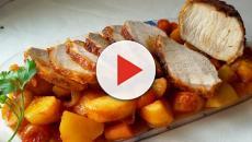 Medallones de cerdo salteados simples con receta de salsa de pimienta