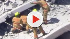 Four people dead and many injured after pedestrian bridge collapse