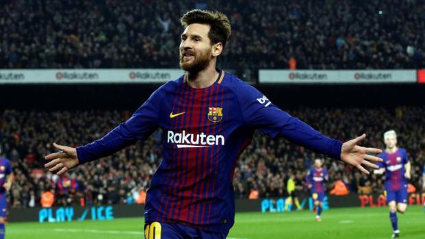 Messi lleva al Barca a cuartos
