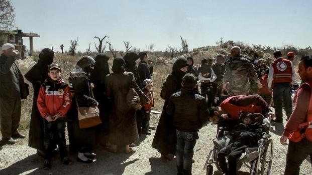 Siria: migliaia di civili in fuga