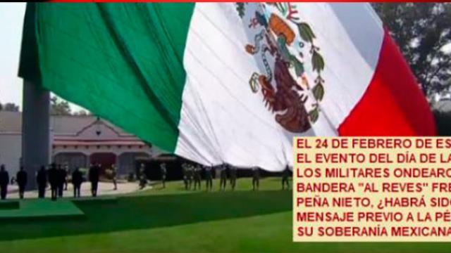 El ejército mexicano en riesgo de entregarle su soberanía a EEUU