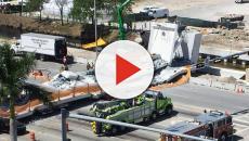 Miami, el puente peatonal se derrumba: 4 muertos, video shock