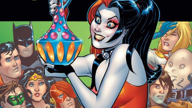 Harley Quinn: Ten cuidado con lo que deseas para la edición especial n. ° 1
