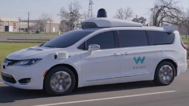 Así es como va un auto robótico completamente sin conductor
