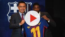 Dembelé vai mandar dois embora do Barcelona