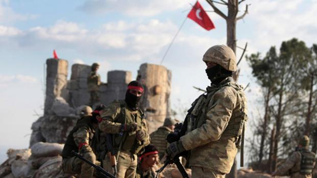 CONFLICTO SIRIO: Los turcos toman el centro de la ciudad siria de Afrin
