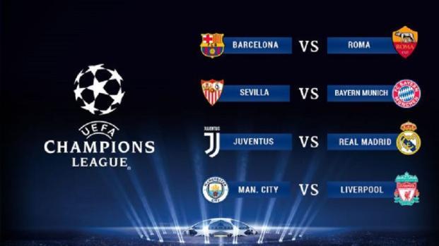 Cuartos de final de la Champions League: Džeko se enfrentará a Messi