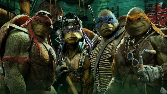 Teenage Mutant Ninja Turtles 2.