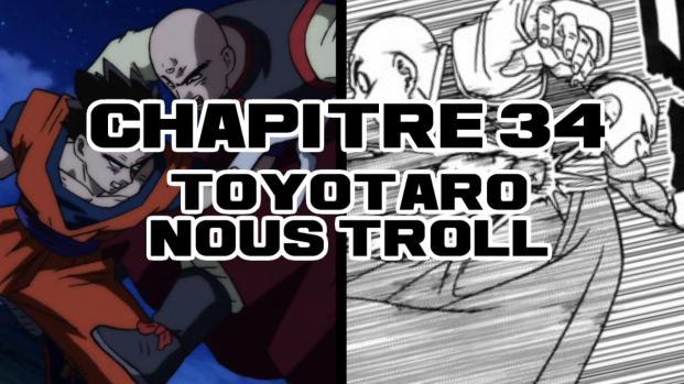 Dragon Ball Super Chapitre 34: Frost se déchaîne, au revoir Krillin et Tenshihan