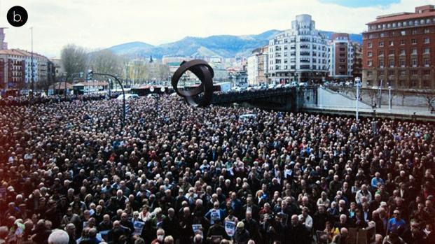 """Cerca de 40.000 personas se manifiestan en Madrid en contra de la """"Ley mordaza"""""""
