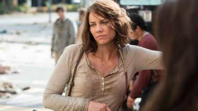 El embarazo de Maggie de The Walking Dead.