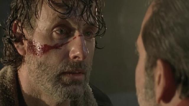 Rick no siempre se ve saludable en 'The Walking Dead'