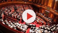 La registrazione dei nuovi senatori