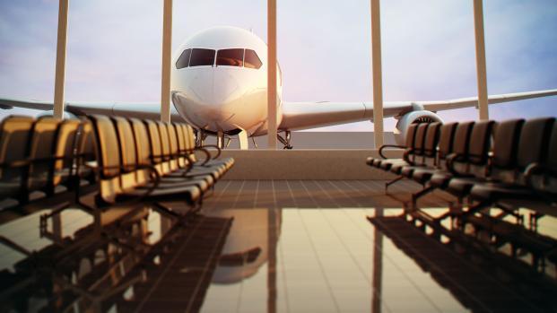 Secreto volador: los aeropuertos y los aviones a menudo son más sucios