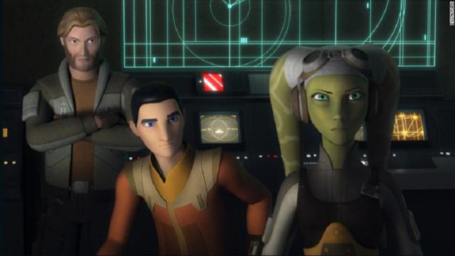 La famosa saga Star Wars Rebels Finale