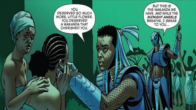 Los personajes favoritos de la Pantera Negra están consiguiendo su propio cómic