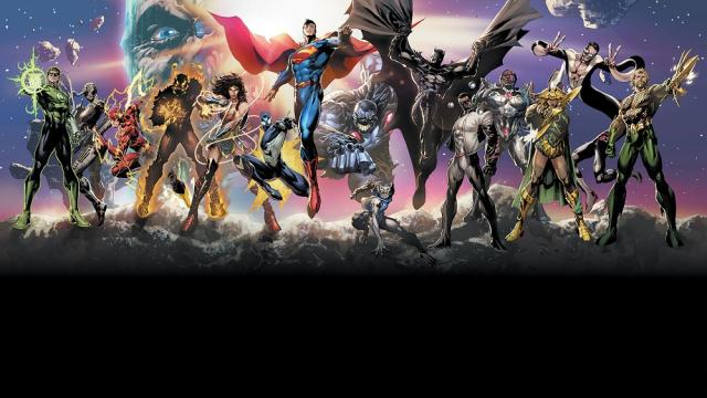 Héroes de la Nueva Era de DC: Viniendo hacia ti de lado