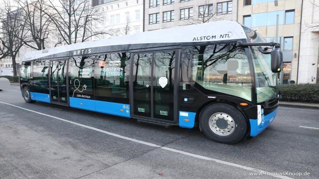 Electromovilidad: el E-Bus Aptis de Alstom desafía el invierno de Berlín